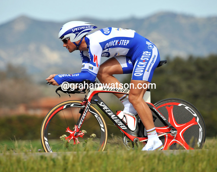 TOM BOONEN ON STAGE SIX OF THE 2009 TOUR OF CALIFORNIA