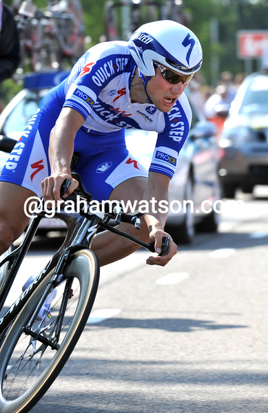 TOM BOONEN IN THE PROLOGUE OF THE 2009 ENECO TOUR