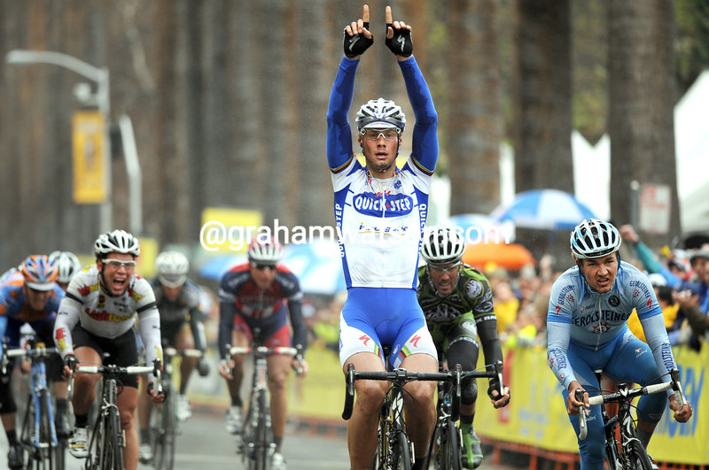 TOM BOONEN WINS STAGE TWO OF THE 2008 TOUR OF CALIFORNIA