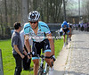 Tom Boonen attacks in the 2012 E3 Harelbeke