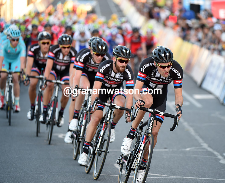 Tom Dumoulin in the 2015 Peoples Choice Classic in Adelaide