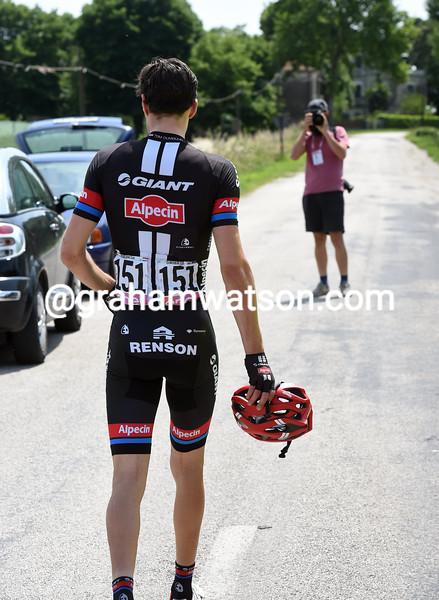 Tom Dumoulin abandons the 2016 Giro d'Italia