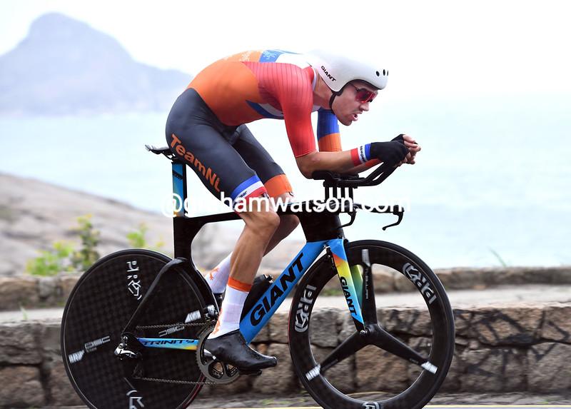 Tom Dumoulin in the 2016 Olympic Games TT