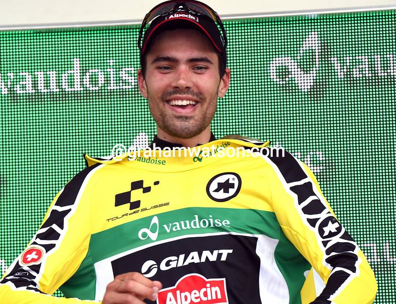 Tom Dumoulin in the 2015 Tour de Suisse