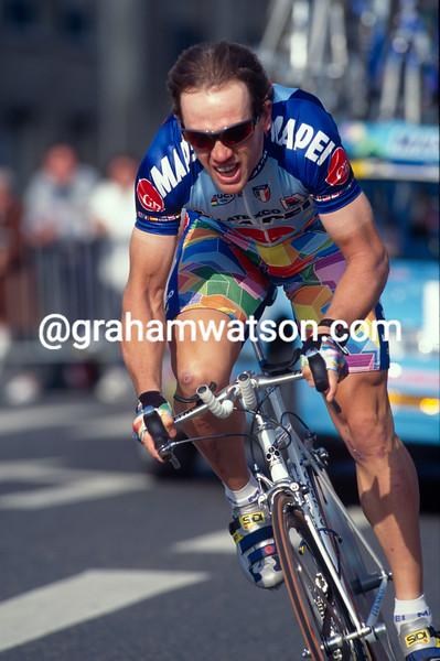 Tom Steels in the 1993 Paris-Nice prologue TT