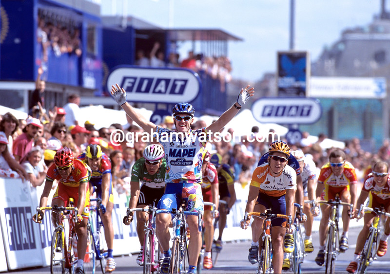 TOM STEELS WINS STAGE SEVENTEEN OF THE 1999 TOUR DE FRANCE
