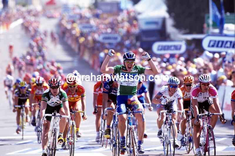 TOM STEELS IN THE 1998 TOUR DE FRANCE