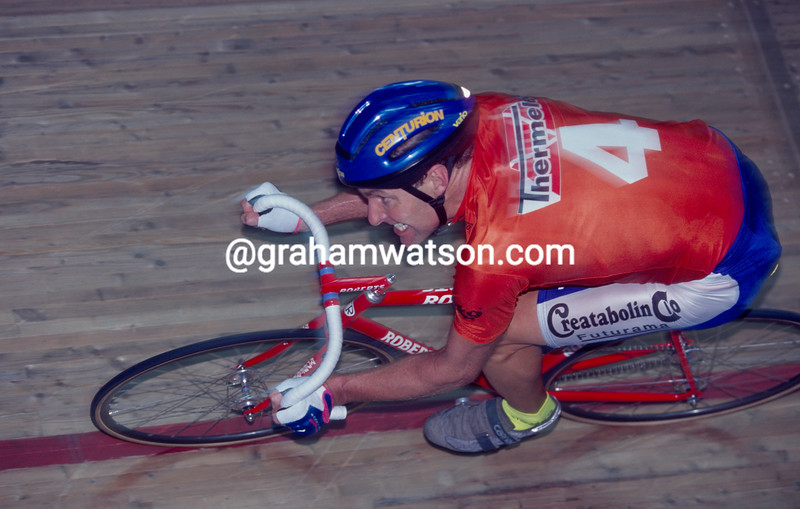 Tony Doyle in the 1988 Ghent Six-Day