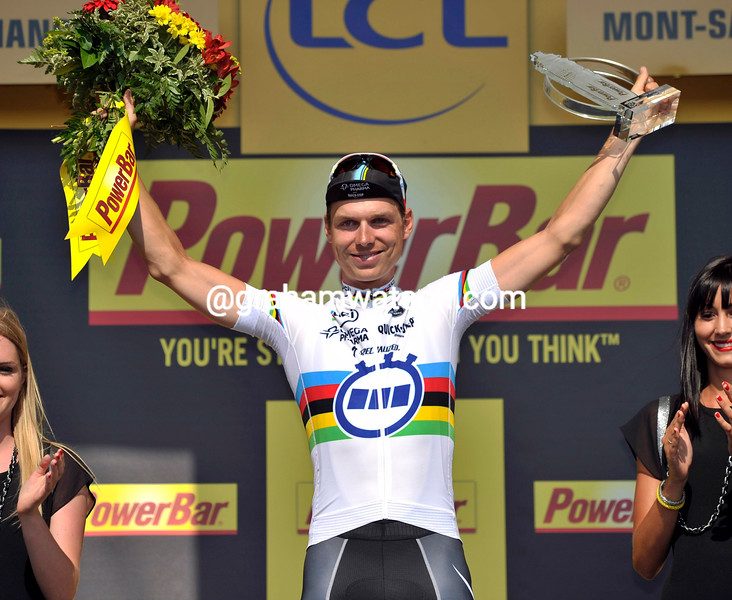 Tony Martin wins stage eleven of the 2013 Tour de France