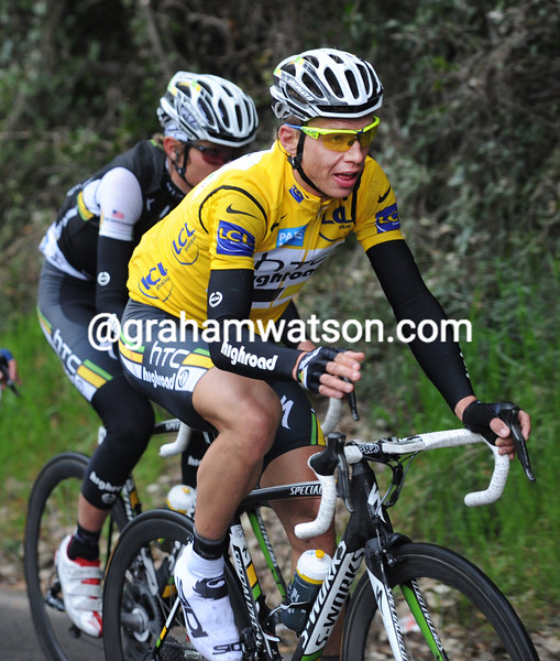 TONY MARTIN ON STAGE SEVEN OF THE 2011 PARIS-NICE