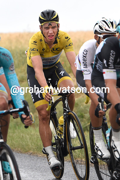 Tony Martin on stage five of the 2015 Tour de France