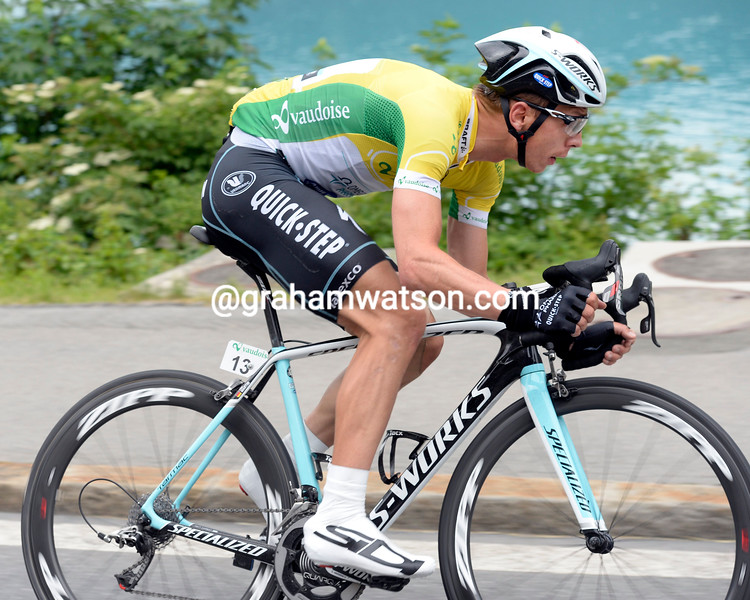 Tony Martin on stage two of the 2014 Tour de Suisse