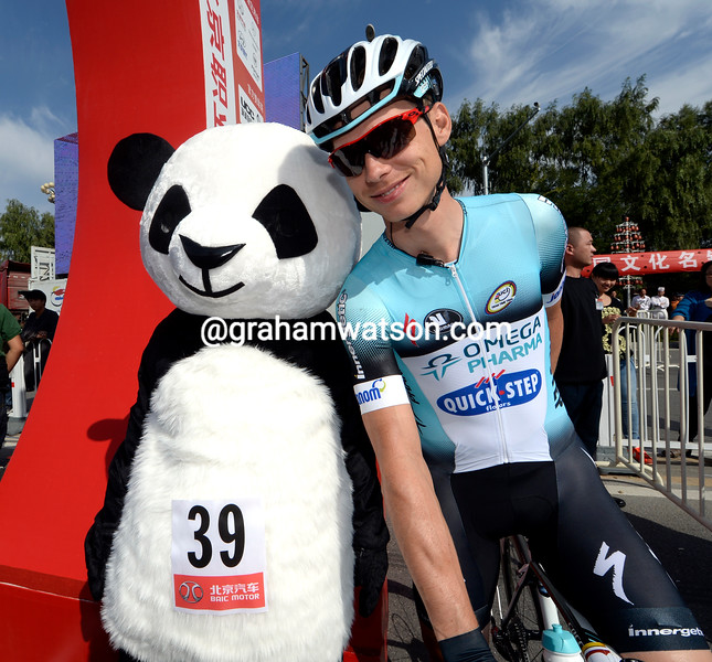 Tony Martin on stage two of the 2013 Tour of Beijing