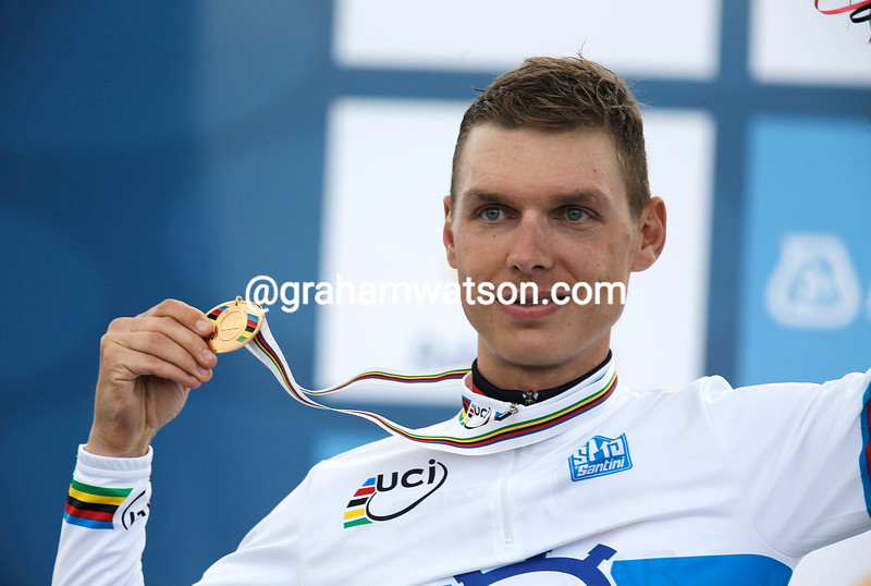 Tony Martin in the 2012 mens time trial world championships