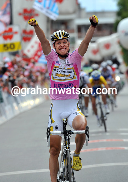 TONY MARTIN WINS STAGE EIGHT OF THE 2009 TOUR OF SWITZERLAND