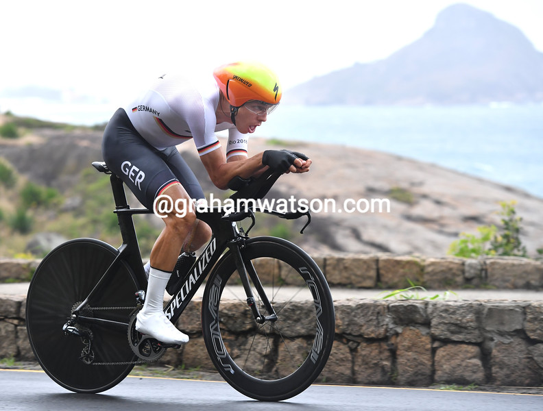 Tony Martin in the mens time trial at the 2016 Olympic Games