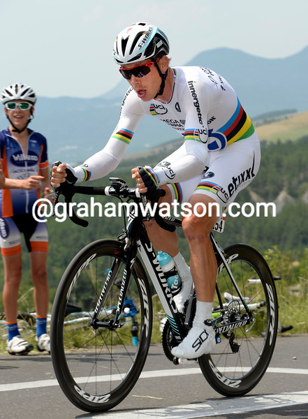 Tony Martin on stage seventeen of the 2013 Tour de France