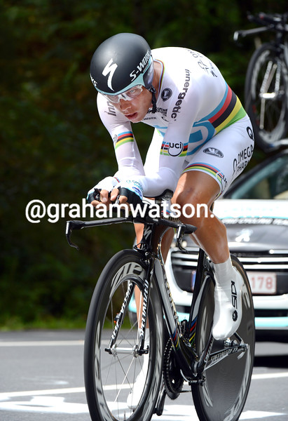 Tony Martin on stage eleven of the 2012 Vuelta EspaÒa