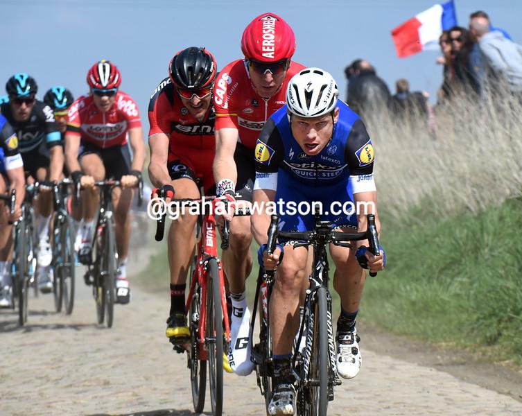 Tony Martin in the 2016 Paris-Roubaix