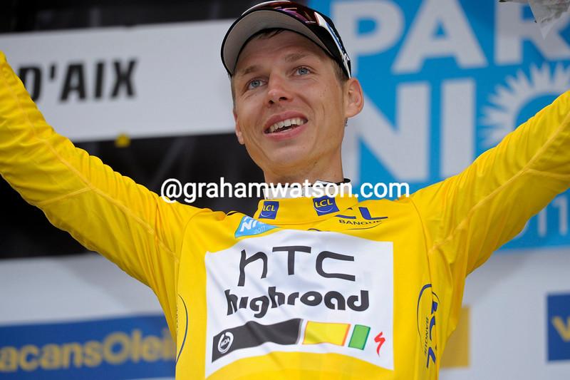 TONY MARTIN WINS THE 2011 PARIS-NICE