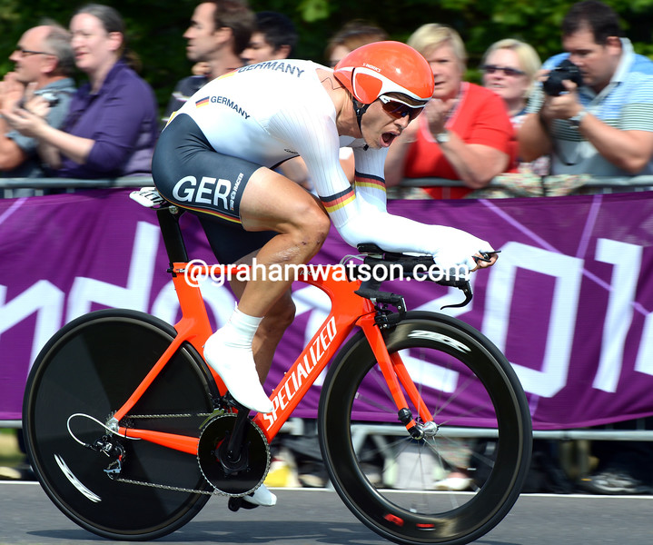 Tony Martin in the 2012 Mens Olympic Time Trial