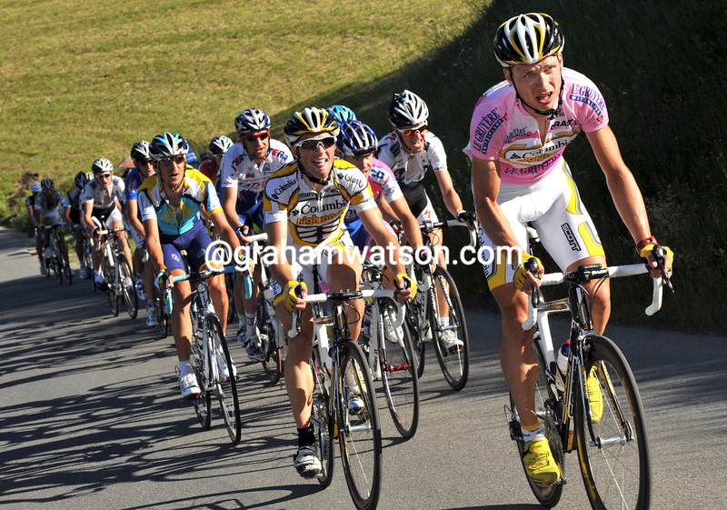 TONY MARTIN ATTACKS ON STAGE FIVE OF THE 2009 TOUR OF SWITZERLAND