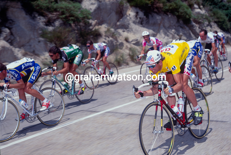 Tony Rominger in the 1992 Tour of Spain
