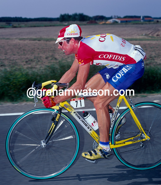 Tony Rominger in the 1998 Tour of Spain