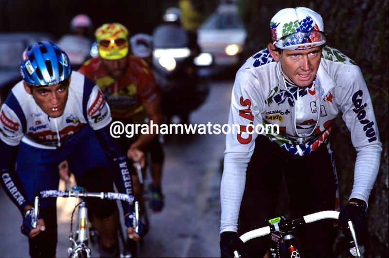 Tony Rominger in the 1992 Giro di Lombardia