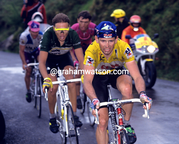 Tony Rominger in the 1993 Tour of Spain