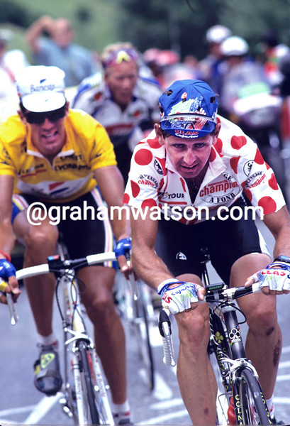 Tony Rominger in the 1993 Tour de France