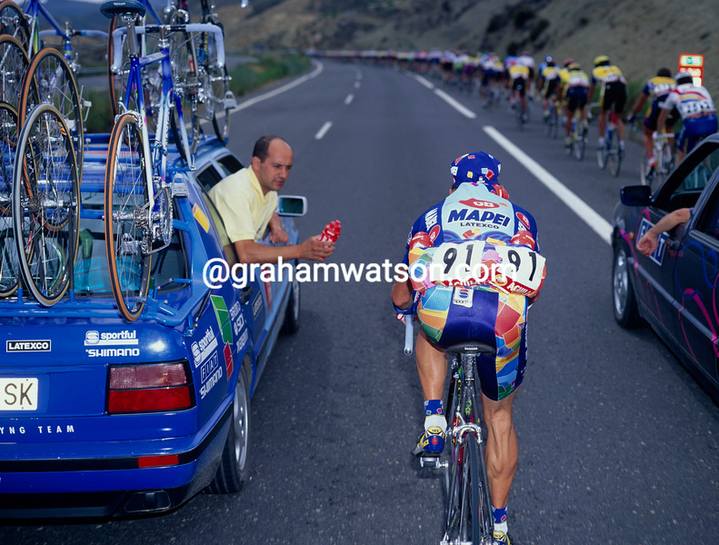 Tony Rominger in the 1995 Tour of Spain