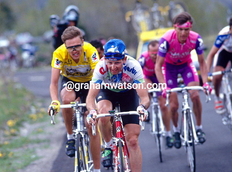 Tony Rominger in the 1994 Tour of Spain