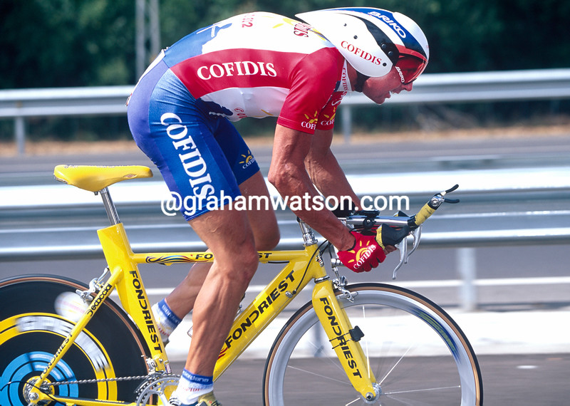 Tony Rominger in the 1997 Tour of Spain