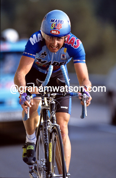 Tony Rominger in the 1994 Paris-Nice