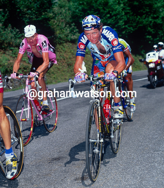 Tony Rominger in the 1996 Tour de France
