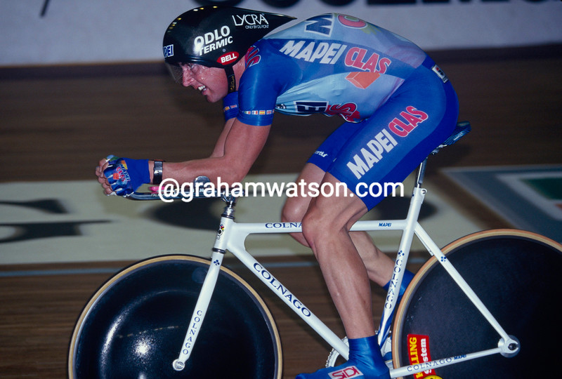 Tony Rominger in an Hour Record in 1994