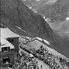 THE 1983 TOUR DE FRANCE CROSSES THE COL De Tourmalet