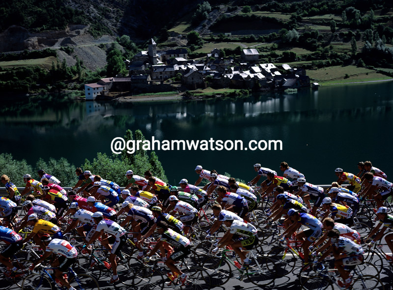 The 1991 Tour de France in Spain