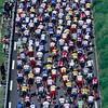 The peloton in the 1997 Tour de France