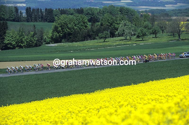 Cyclists in the 2003 Tour de Romandie