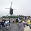 The windmill at Wannegem-Lede in the 1999 Tour of Flanders