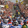 The Tour of Flanders on the Berendries climb