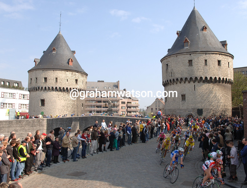 The Tour of Flanders passes through Kortrijk