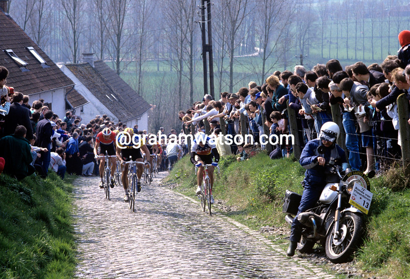 THE MOLENBERG IN THE 1988 TOUR OF FLANDERS