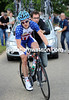 TYLER FARRAR MAKES A WHEEL CHANGE IN THE LONDON & SURREY CYCLE CLASSIC