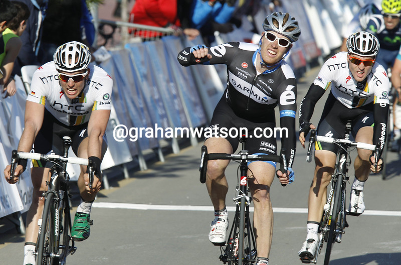 TYLER FARRAR WINS STAGE TWO OF THE 2011 MALLORCA CHALLENGE