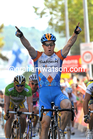 TYLER FARRAR WINS STAGE ELEVEN OF THE 2009 TOUR OF SPAIN