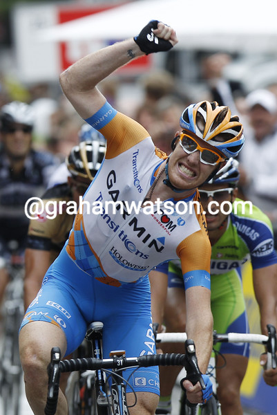 TYLER FARRAR WINS THE 2010 VATTENFALL CYCLASSICS
