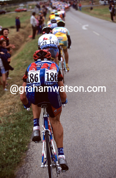 Tyler Hamilton in the 1999 Tour de France